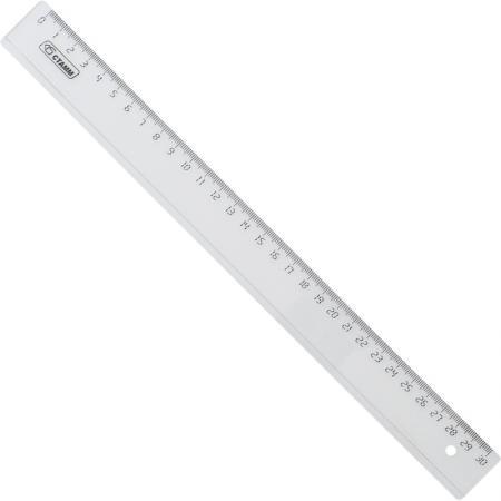 Линейка СТАММ ЛН33 30 см пластик еж стайл линейка коняшка цвет антрацитовый 15 см