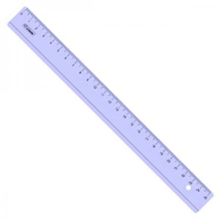Линейка СТАММ ЛН24 25 см пластик еж стайл линейка коняшка цвет антрацитовый 15 см