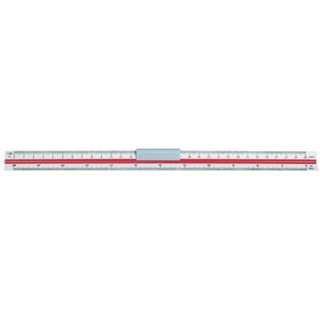 Линейка Koh-i-Noor 715004 30 см метал линейки koh i noor линейка 30 см масштабная трехгранная 6 шкал