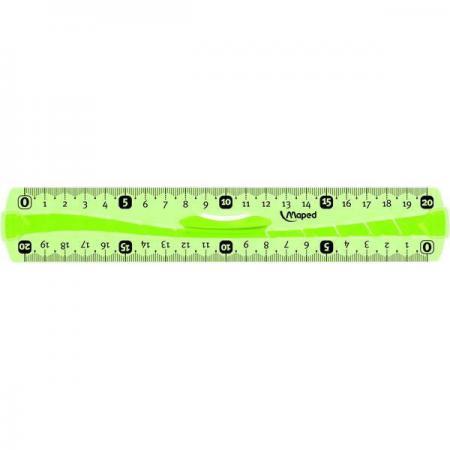 Линейка Maped FLEX, 20 см пластик 244120 цена и фото