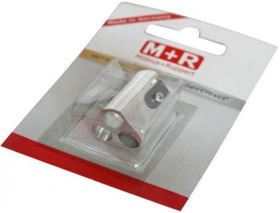 Точилка M+R 0207-0002 металл серебристый