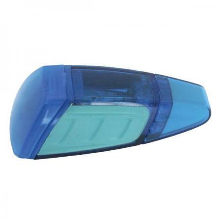 Точилка Action! ШАТТЛ пластик синий с ластиком, п/п с европодвесом ASH515 точилка action капля п п пакетик с е подвесом