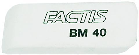Ластик Factis BM40 1 шт прямоугольный
