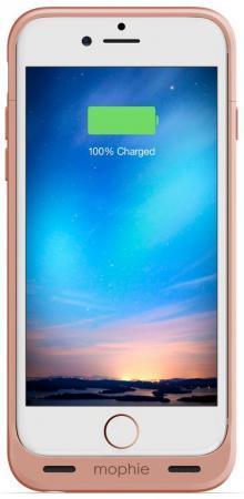Чехол-аккумулятор Mophie Juice Pack Reserve для iPhone 6 iPhone 6S розовый золотой 3419 gumai silky case for iphone 6 6s black