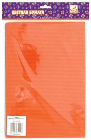Набор цветного картона Fancy Creative FD010006 A4 8 листов гофрированный канцелярия fancy creative набор самоклеющейся цветной голографической бумаги a4 6 цв 6 л
