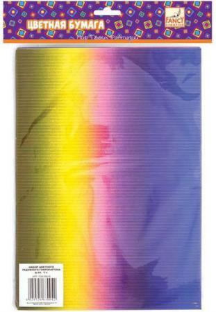 Набор цветного картона Fancy Creative FD010016 A4 5 листов гофрированный канцелярия fancy creative набор самоклеющейся цветной голографической бумаги a4 6 цв 6 л