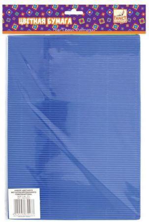 Набор цветного картона Fancy Creative FD010007 A4 5 листов гофрированный канцелярия fancy creative набор цветной голографической бумаги a4 6 цв 6 л