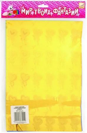 Цветная бумага Fancy Creative FD010021 A4 6 листов переплетчик gbc combbind 100 a4 перфорирует 9 листов сшивает 160 листов пластиковые пружины 6 19мм 4