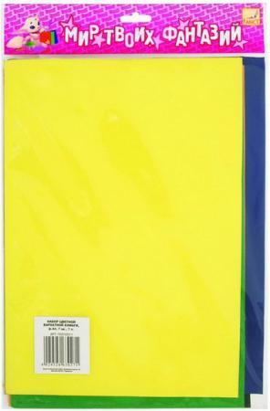 цена Цветная бумага Fancy Creative FD010011 A4 7 листов онлайн в 2017 году