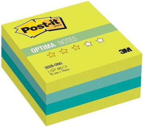 Бумага с липким слоем 3M 400 листов 76x76 мм многоцветный 2028-ONG цена и фото