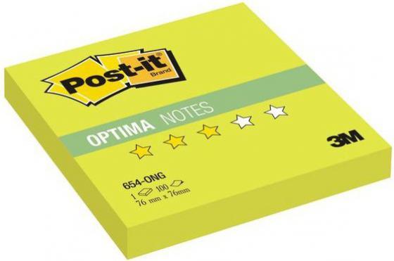 Бумага с липким слоем 3M 100 листов 76x76 мм салатовый 654-ONG цена и фото