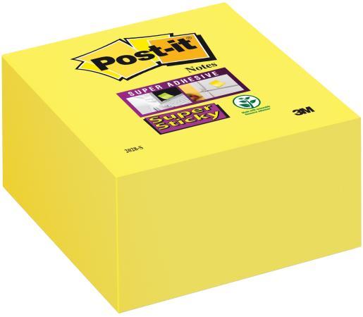 Бумага с липким слоем 3M 350 листов 76x76 мм желтый 2028-S цена и фото