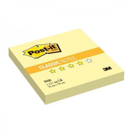 Бумага с липким слоем 3M 100 листов 76x76 мм желтый R330-RU цена и фото