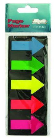 Бумага с липким слоем Global 125 листов 25х45 мм синий зеленый желтый красный розовый 2683-09 кошка собака ошейники светодиодные фонарики регулируется выдвижной однотонный нейлон желтый красный зеленый синий розовый