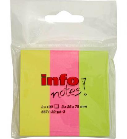 Стикер Global 300 листов 25х75 мм многоцветный 567139 стикер global 144 листа 12 5х43 мм многоцветный 773918