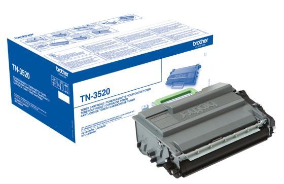 все цены на Картридж Brother TN3520 для HL-L6400DW/L6400DWT/MFC-L6900DW/L6900DWT черный 20000стр онлайн