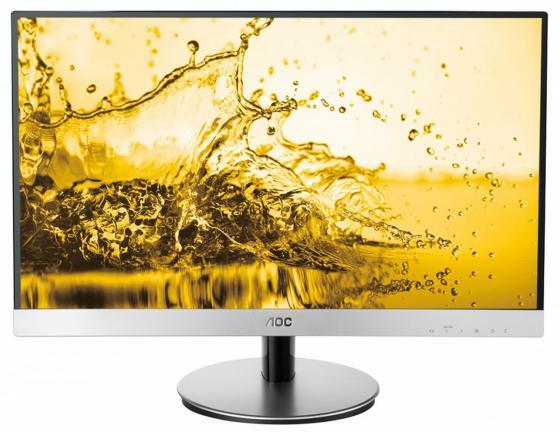 """Монитор 27"""" AOC i2769V черный серебристый IPS 1920x1080 250 cd/m^2 5 ms VGA DVI недорго, оригинальная цена"""