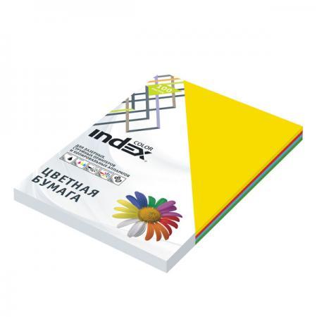 Цветная бумага Index Color A4 100 листов ICmixmedium/4x25/100