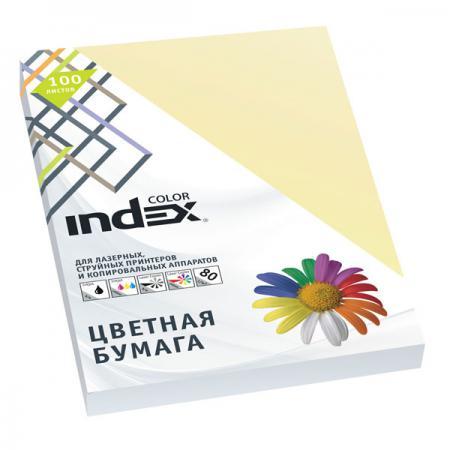 Цветная бумага Index Color A4 100 листов IC55/100