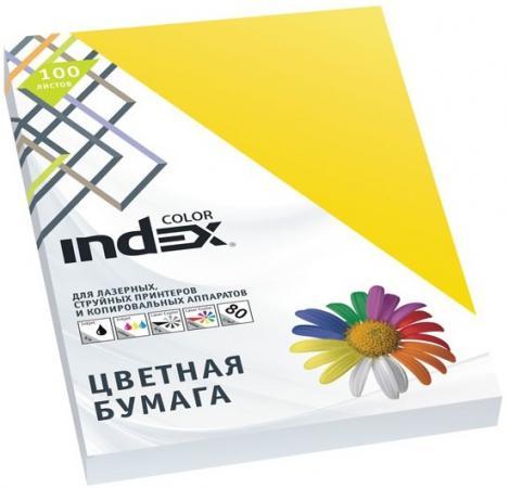 Цветная бумага Index Color IC56/100 A4 100 листов бумага maestro color pale a4 80g m2 100л blue mb30 102474