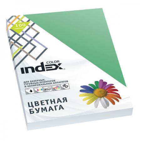 Цветная бумага Index Color A4 100 листов IC68/100 бумага maestro color pale a4 80g m2 100л blue mb30 102474