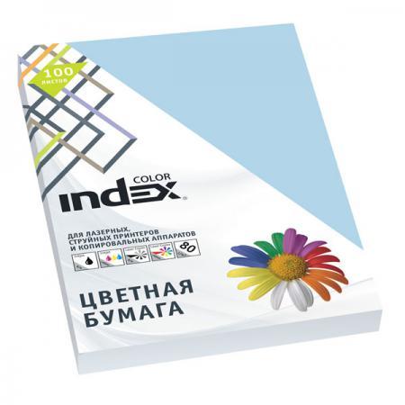 Цветная бумага Index Color A4 100 листов IC72/100 блокнот index in0101 a460 a4 60 листов в ассортименте