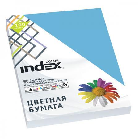 Цветная бумага Index Color A4 100 листов IC78/100 переплетчик gbc combbind 100 a4 перфорирует 9 листов сшивает 160 листов пластиковые пружины 6 19мм 4
