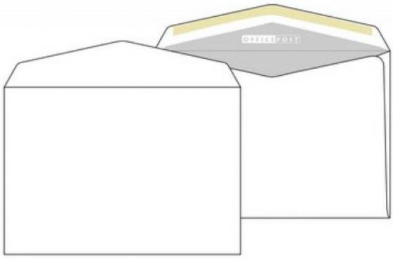 Конверт C5 ЭМИКА 2000 OFFICEPOST 1 шт 80 г/кв.м белый 2501/Т конверт c5 эмика 2000 officepost 1 шт 80 г кв м белый 2501 т