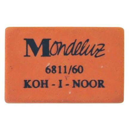 Ластик Koh-i-Noor MONDELUZ 1 шт прямоугольный 6811/60 6811/60 цена
