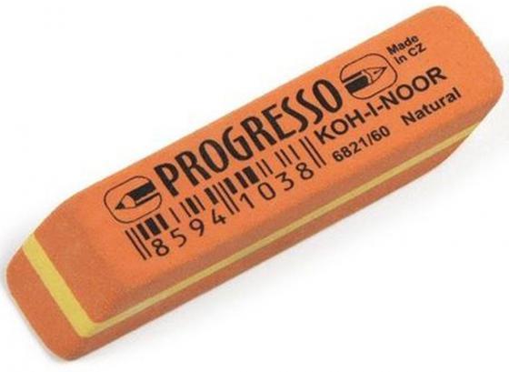 Ластик PROGRESSO, для чернографитных карандашей 6821/60-56 набор карандашей koh i noor progresso 6 штук