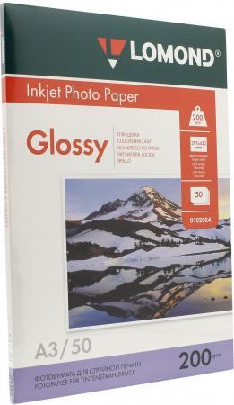 Бумага Lomond A3 200г/кв.м глянцевая односторонняя0102024 50л цены онлайн