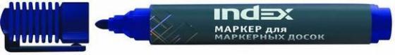 Маркер для доски Index IMW535/BU 4 мм синий маркер для доски centropen 8569 1ч 4 6 мм черный