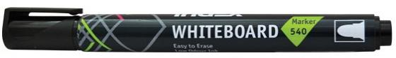 Маркер для доски Index IMW540/BK 4 мм черный