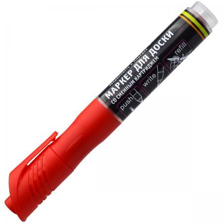 Маркер для доски Index IMWR101/RD 3 мм красный сменные чернила IMWR101/RD