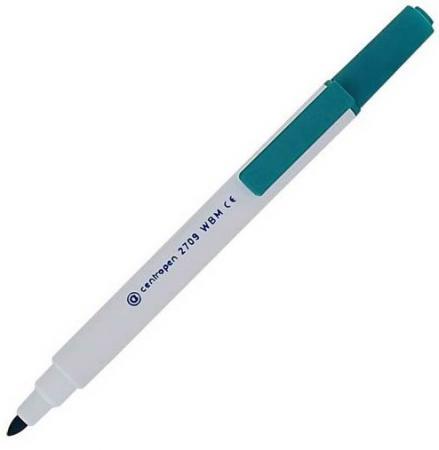 Маркер для доски Centropen 2709/1З 2 мм зеленый 2709/1З маркер флуоресцентный centropen 8722 1о оранжевый 8722 1о
