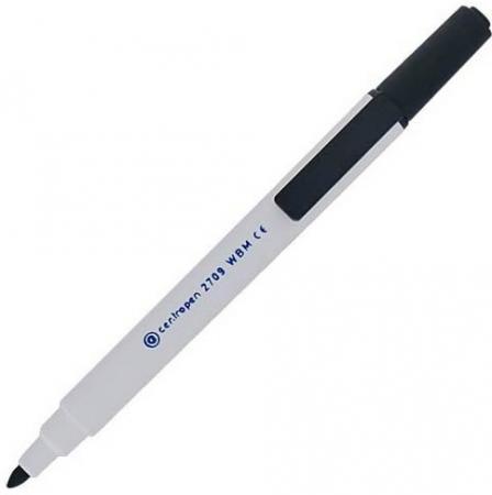 Маркер для доски Centropen 2709/1Ч 2 мм черный 2709/1Ч маркер флуоресцентный centropen 8722 1о оранжевый 8722 1о