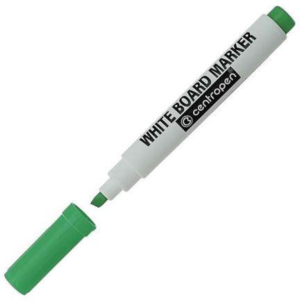Маркер для доски Centropen 8569/1З 4.6 мм зеленый 8569/1З маркер для доски centropen 8569 1c 4 6 мм синий 8569 1c