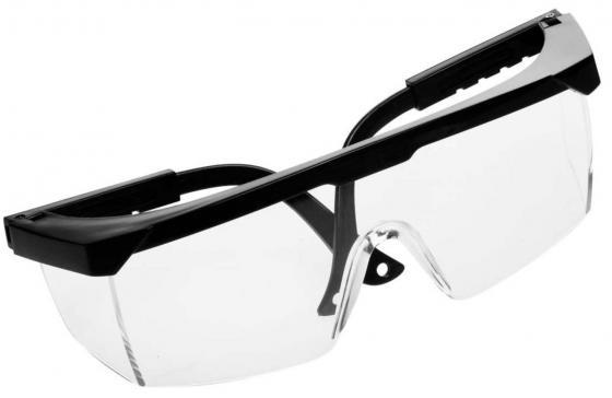 Защитные очки Stayer поликарбонатные прозрачные линзы 2-110451 наколенники защитные stayer soft 2 11197
