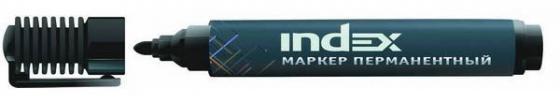 Маркер перманентный Index IMP555/BK 1 мм черный