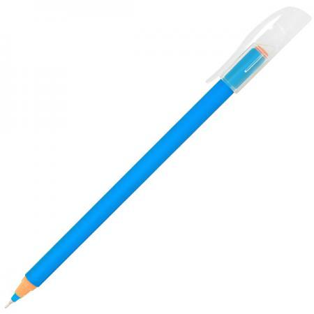 Купить Шариковая ручка Index Colourplay синий 0.6 мм ICBP606/BU одноразовая