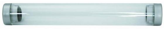 Футляр для одной ручки, прозрачный цилиндр, длина 155 мм, диаметр 22 мм, пластиковый BX-106 футляр для двух ручек прямоугольный с прозрачной крышкой 171х55х24мм пластиковый bx 103