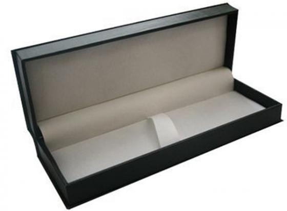 Футляр для ручки, подарочный, прямоугольный, 188х65х34 мм, черный BX-415/1 футляр для двух ручек прямоугольный с прозрачной крышкой 171х55х24мм пластиковый bx 103