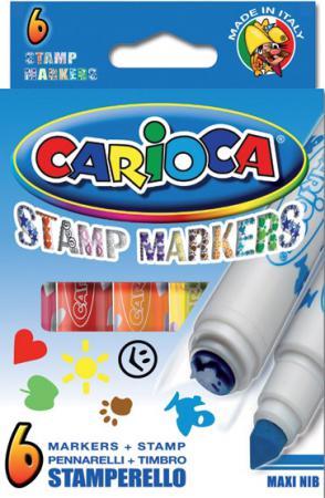 Набор маркеров Universal CARIOCA STAMP MARKERS 6 шт разноцветный 42279/6
