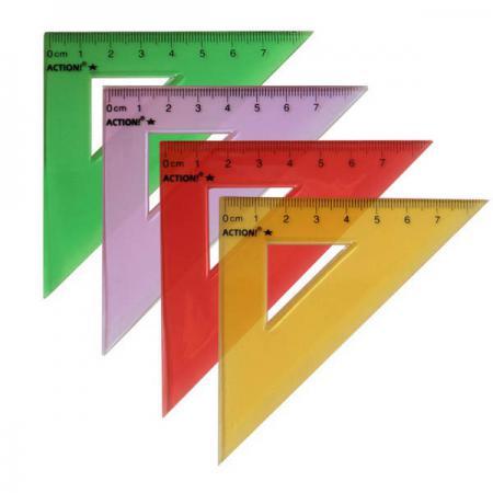 Треугольник Action! APR7/45/TF 7 см пластик [show z store] badcube ost 09 grump g1 tf action figure