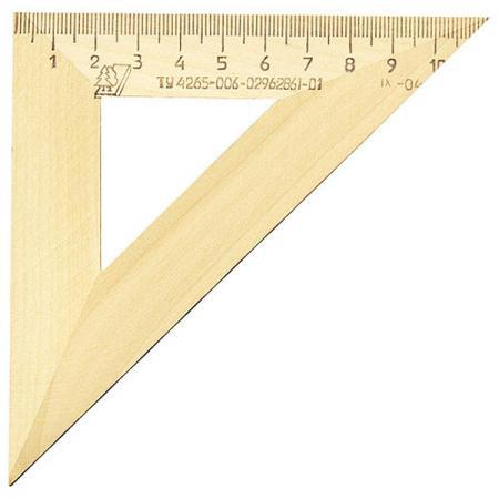 Купить Треугольник Красная Звезда С 138/ШК 11 см дерево, бежевый