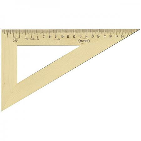 Купить Треугольник Красная Звезда С 137/ШК 23 см дерево, бежевый