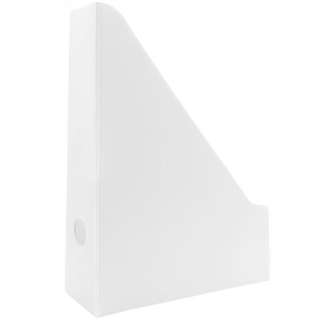 Накопитель архивный, вертикальный, лакированный микрогофрокартон, 470 г/кв.м,227х75х305мм, белый SCT700/W SPONSOR
