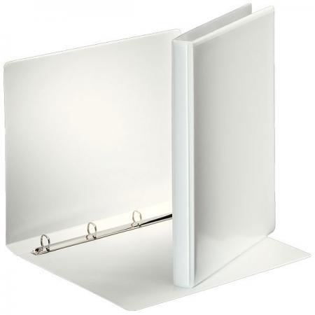 Папка на 4 кольцах ESSELTE ПАНОРАМА, 40 мм, D 25 мм, белая 49702 папка esselte на 4х кольцах