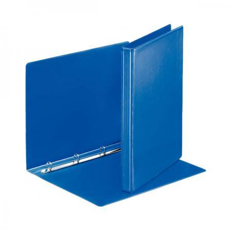 Папка на 4 кольцах ESSELTE ПАНОРАМА, 62 мм, D 40 мм синий 49762 папка esselte на 4х кольцах