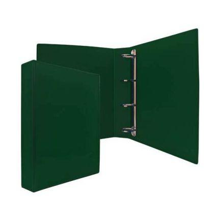 Папка-файл на 4 кольцах, зеленая, PVC, 50 мм, диаметр 35мм 08-2765-2/ЗЕЛ